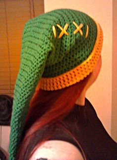 LARPkitten's Crafty Things - Legend of Zelda - Link Hat (Crochet Pattern) @Ashley Bronander should I make this for Aaron?
