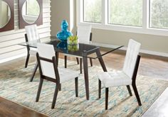 Colonia Hills Cappuccino 5 Pc Dining Set Find Affordable Room Sets For Your Home That Will Complement The Rest Of Furniture