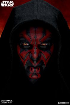 The Star Wars Darth Maul Life-Size Bust by Sideshow Collectibles is now available for fans of life-size collectibles, Star Wars and science fiction. Star Wars Mädchen, Star Wars Girls, Star Wars Darth, Star Wars Humor, Darth Maul Comic, Darth Maul Clone Wars, Star Wars Boba Fett, Dark Maul, Dark Vader