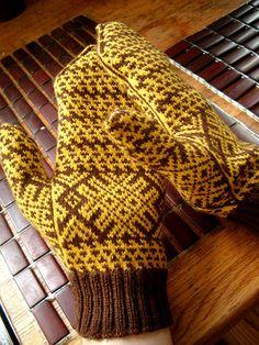 Komi Mittens - On Hands | Flickr - Photo Sharing!