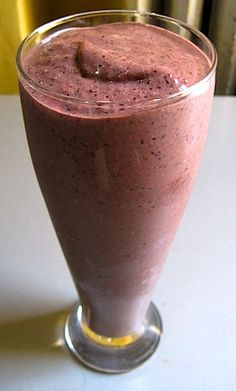 Hydrating Coconut Berry Smoothie - perfect after a long run in the summer heat.