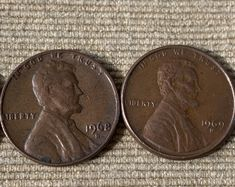 Old Pennies Worth Money, Valuable Pennies, Rare Pennies, Rare Coins Worth Money, Valuable Coins, Lincoln, Rare Coin Values, Penny Values, Error Coins