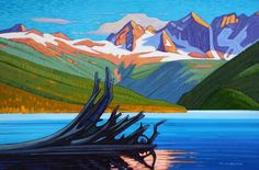 Nicholas Bott Canadian Artist | via Nancy Jeffrey