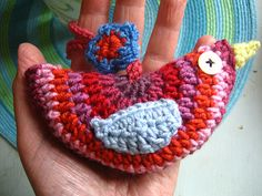 Little Birdie crochet decoration