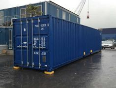 Shipping container hire for all purposes and needs. UK delivery on shipping containers for hire, contact our friendly team today. Small Shipping Containers, 40ft Container, Cargo Container Homes, Shipping Container Home Designs, Container House Design, Business Storage, Container Conversions, Storage Facility, Self Storage