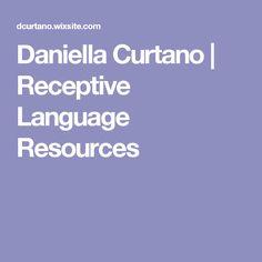 Daniella Curtano | Receptive Language Resources
