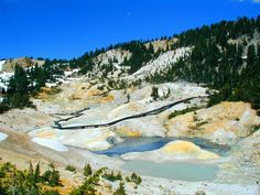 Bumpass Hell Trail at Lassen Volcanic National Park. My goal is to hike that next yr
