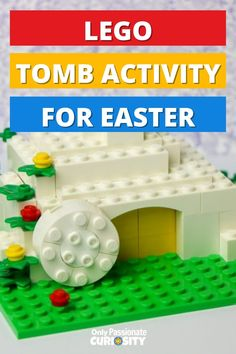 Easter Activities For Kids, Lego Activities, Spring Activities, Easter Crafts, Easter Ideas, Lego Wall, Creative Arts And Crafts, Summer Crafts, Homeschooling
