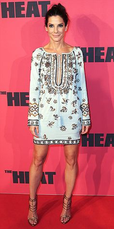"""Sandra Bullock's Style Evolution 
