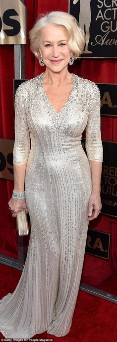 SAG Awards red carpet sees Kate Winslet, and Helen Mirren lead the glamour | Daily Mail Online