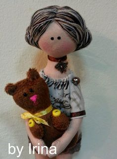 Mimin Dolls: mesterek babák