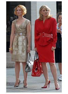 Miranda Hobbes y Samantha Jones