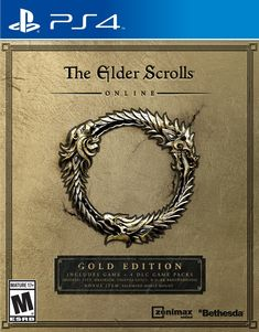The Elder Scrolls Online: Gold Edition - PlayStation 4