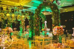Boda estilo Jardín Escondido en Corrientes by GLORIOSA #deco #wedding #event