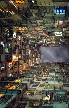 Living on top of each other in Hong Kong, China ::: apparently, this is an actual photo