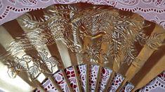 Br Wall Decor Phoenix Design Oriental Fan Asian Indian Vintage