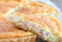 Quiche Lorraine Légère au Skyr WW Cooking Time, French Toast, Sandwiches, Lose Weight, Cheese, Breakfast, Cake, Desserts, Vinaigrette