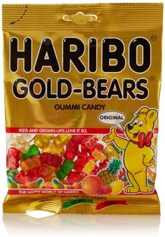 Haribo Gold Bears, my childhood candy