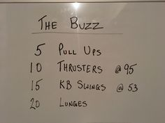 Holiday inspired workout from the garage. Do 4 sets!