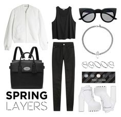 """Wardrobe Basics: Spring Jacket"" by eva-jez ❤ liked on Polyvore featuring T By Alexander Wang, Jeffrey Campbell, AG Adriano Goldschmied, ASOS, Mulberry, Retrò and wardrobebasics"