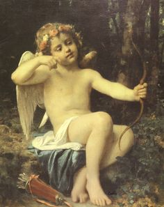 Bazile Perrault (1832-1908)Cupids Arrows.