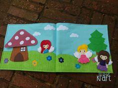 Fairy Quiet Book fairy finger puppet set fairy by AllAboutKraft