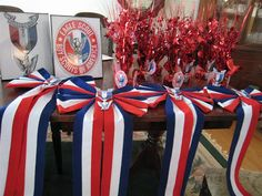 Eagle Scout Table Decorations http://the-world-of-karen.blogspot.com ...