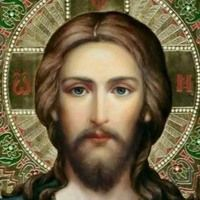 For an icon of Christ Jesus, it's a different but very nice use of a different set of colours, which makes it worth buying (investigate). Religious Pictures, Jesus Pictures, Religious Icons, Religious Art, Croix Christ, Vintage Holy Cards, Religion, Jesus Christ Images, Jesus Face