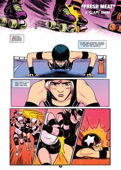 Box is an imprint of BOOM! Studios that publishes comics made for the love of it, including. Roller Derby Skates, Roller Derby Girls, Quad Skates, Roller Rink, Roller Skating, Derby Games, Comic Book Publishers, Former, Boom Studios