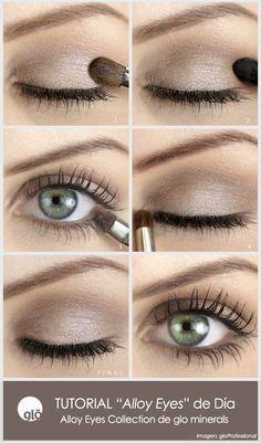 """Tutorial para un look de día con """"Alloy Eyes collection"""": http://goo.gl/V1R850"""