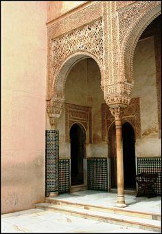 Alhambra Palace by alarig. Granada. Spain