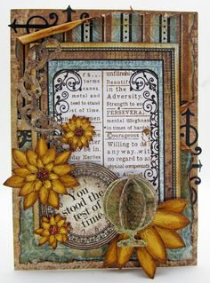 masculine You Stood the Test of Time card by Lori Williams
