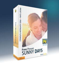 Free Lightroom Preset: Sunny Days - Wedding Preset - The Best Free Lightroom Presets and Tutorials