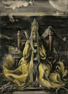 THE KING IN YELLOW I BY SANTIAGO CARUSO