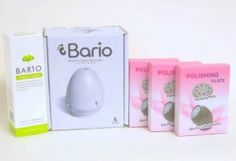 Bario Electric Callus Remover Home Foot Care System, 3 Polishing Plates, 1 Foot Cream by Bario. $44.99. ?Less mess - Collects callus residue. ?Ergonomic design - Fits perfectly in your hands. ?Safe and gentle on skin, 3 speed control. ?No effort - No more Scrapping, Filing, and Shaving. Award winning patented technology and design that has revolutionized the home foot care industry, making it easier than ever to get professional, spa-like results in the comfort of your own...