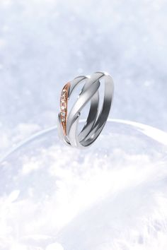 One Heart Marriage Ring 結婚指輪 STAR JEWELRY スタージュエリー Diamond Pt950  http://www.star-jewelry.com/bridal