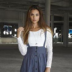 d46365c05299f Adam Levine- -Women s Long-Sleeve Lace Crop Top Lace Crop Tops