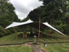10m x6.5m White Stretch Canopy for Private Party Belfast CO Antrim Ireland