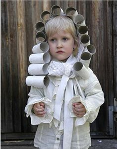 A Lovely Lark  20 More DIY Halloween Costume Ideas - powdered wig Best Diy  Halloween ce67674d2