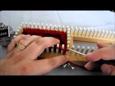 Simply Intertwined: Fingerless Gloves On The All In One Loom