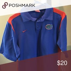 Men's Gator Nike Dri Fit Polo Men's Gator Nike Dri Fit Polo. Excellent condition! Size small. Nike Shirts Polos