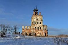 Ярославская  обл.  Одинокая  церковь.