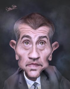 Minister of Finance, caricature