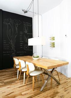Chalkboard Dining Room Wall | Photo Gallery: Great Paint Colours | House & Home | Photo David Bagosy
