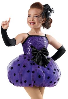 Sequin Dotted Bubble Skirt Dress -Weissman Costume