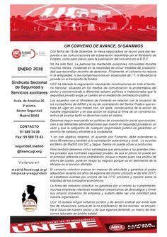 SECCIO SINDICAL UGT SECURITAS CATALUNYA: REVISTA FeSMC-UGT SEGURIDAD PRIVADA ENERO 2018