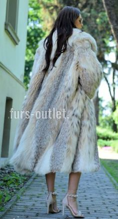 NEW LYNX LONG FUR COAT CLASS JACKET MINK FOX CHINCHILLA VEST RUSSIAN SABLE CITES