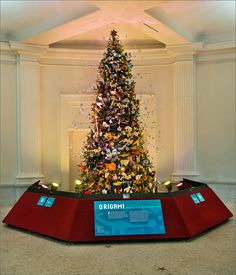 The 2015 Origami Holiday Tree