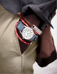 Love the watch strap.