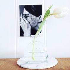 Instagram @met_liefde_wonen  #blackandwhite#tulp#tulip#marmer#marble